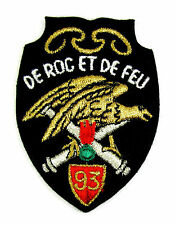 ECUSSON MILITARIA BRODÉ EMBROIDERED PATCH 93 EME REGIMENT ARTILLERIE DE MONTAGNE