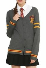 Harry Potter Gryffindor Cardigan Cosplay Size Medium New With Tags!