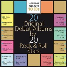 Various - 20 Original Debut Albums by 20 Rock & Roll Stars (2015)  10CD Box  NEW