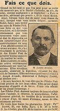 42 BALBIGNY JOSEPH AVONDO PILULES PINK PUBLICITE 1924
