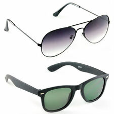 Combo Aviator and Wayfarer Style Sunglasses Goggles Sun Glasses Assorted Colour