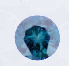 1.02 Carat Blue Round Loose Color Enhanced Natural Diamond for RING ASAAR DEAL