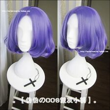 Owari no Seraph Of The End Anime Cosplay Wig Chess Belle Short Curly Purple Wigs