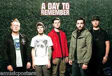 "A DAY TO REMEMBER ""BAND SHOT IN FRONT OF IVY"" POSTER FROM ASIA - Metalcore Music"