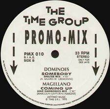 QUASIMODO / OPEN BILLET / Dominoes / Magellano - Promo Mix 10 - Time - PMX 010