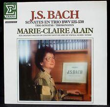 SEALED  Bach Sonates en trio Marie-Claire Alain, Saint-Hilaire de Näfels