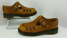 Dr. Martens Airwalk Distressed Tan Leather Sandal Shoe. Size 5. SN 8251