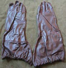 WWII GERMAN LUFTWAFFE Airborne fallschirmjager Paratrooper jump gloves- MEDIUM