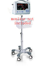 Rolling stand for CASMED 740/750  vital  sign monitor  new (big wheel), NEW
