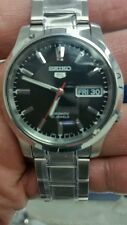 BRAND NEWS SEIKO 5 AUTOMATIC 21 JEWELS STAINLESS STEEL(FREE GIFT PURCHASE)