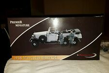 Premier Miniature Black 1938 Mercedes Benz G4 w/ Figures 1:18 Scale #38202