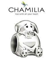 Genuine CHAMILIA 925 sterling silver PUPPY charm bead