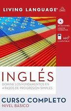 Ingles Curso Completo - Nivel Basico by Living Language Staff (2008, Mixed...