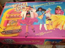 "1989 Vintage Mattel BARBIE DANCE CLUB ""Dancetime Shop"" Playset, NEW! RARE!"