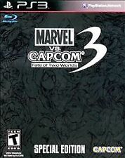 Marvel vs. Capcom 3: Fate of Two Worlds Special Edition Sony PlayStation 3 NEW
