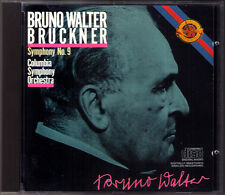 Bruno WALTER: BRUCKNER Symphony No.9 CBS CD Made in Japan Penguin Guide Rosette