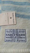 vintage unused Earlys of Whitney wool blanket