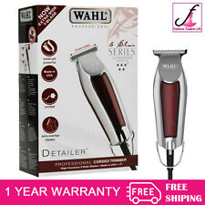 WAHL PROFESSIONAL DETAILER SHAVER/TRIMMER 5 STAR SERIES GENUINE UK PLUG