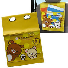 Rilakkuma Car Accessory, Back Seat Organizer / Holder, Kawaii San-X Japan New