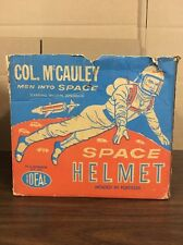 Ideal Col. McCauley Men Into Space William Lundigan Molded In Fortiflex