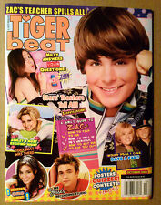 Magazine Tiger Beat ~October 2006 ~Zac Efron~Ashley Tisdale~Dylan & Cole Sprouse