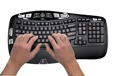 Logitech Mk550 Wireless Wave Keyboard & Mouse Combo M510 K350 Combo