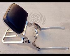 Motorcycle Backrest Sissy Bar luggage Rack for Yamaha Virago XV 250 125 13""