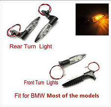 Front + Rear Turn Indicator LED Signal Light For BMW R1200GS R1200 GS 2009-2014