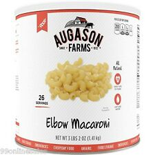Augason Farms Emergency Disaster Survival Camp Food Meal Elbow Macaroni Meal RV