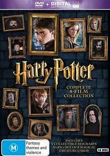 Harry Potter: 8 Film Collection Special Edition LTD DVD R4