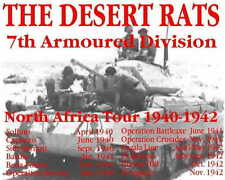Desert Rats 8th Army British  ww2   Tshirt