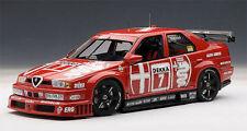 1/18 AUTOart Alfa romeo 155 v6 ti DTM 1993 NANNINI #7 Hockenheim winner