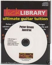 Lick Library Learn to Play Peter Green Guitar Jamtrax Jam Trax CD ALBATROSS ROCK