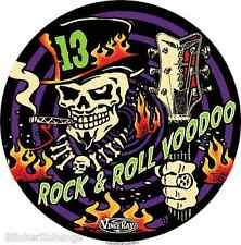 Rock & Roll Voodoo 13 Sticker Decal Art Vince Ray VR56