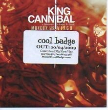 (678H) King Cannibal, Murder Us / Virgo - DJ CD