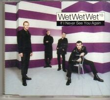 (DO651) Wet Wet Wet, If I Never See You Again - 1997 DJ CD