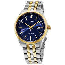 Citizen Eco Drive BM7258-62L Men's Gift Set Black Dial Watch & Bracelet