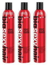 3 (THREE) Big Sexy Hair Spray and Play Harder Hairspray 10 oz - NEW & Authentic!