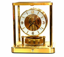 NEAR MINT CLOCK 1980s JAEGER LECOULTRE 540 ATMOS MANTLE #624,000 SERVICE WORKING
