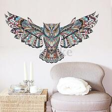 Removable Animal Owl Wings Wall Sticker Bird Vinyl Decal Home Room Art decor DIY