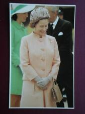 POSTCARD RP ROYALTY QUEEN ON THE ROYAL TOUR OF AUSTRALIA APRIL 1970 30 YEARS E I
