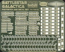 Battlestar Galactica Photoetch & Decal Set / Paragrafix PGX133 moebius models