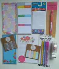 Rare Target One Spot list pad pens washi tape  page flags Stationery
