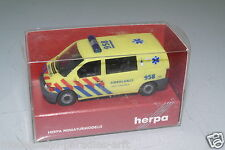 "Herpa 1:87  Mercedes-Benz Vito ""Ambulance Noord-Holland"" RAR !!! OVP(EH1581)"