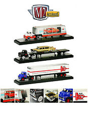 AUTO HAULERS RELEASE 11, 5 PIECES SET 1/64 BY M2 MACHINES 36000-11B