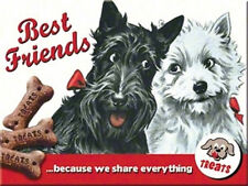 Treats Hundekekse Best Friend Magnet  6x8 cm 14243 Kühlschrankmagnet Schild Sign