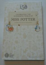 2016 ROYAL MINT - BEATRIX POTTER 50p FIFTY PENCE COIN COLLECTOR ALBUM PACK  NEW