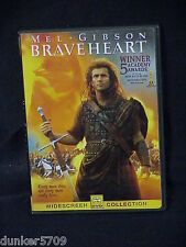 New listing Braveheart Dvd 2000 R Rated In Box Widescreen