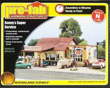 Woodland Scenics PF5203 N Pre-Fab Sonny's Super Service Structure Kit