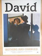 David Bowie 2014 promo motif 2 orig. concert-concert-tour-poster - affiche Din a1